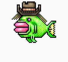 8bit Pixel Art Fish In A Cowboy Hat Classic T-Shirt