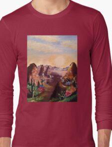 Cacti and Canyons Long Sleeve T-Shirt