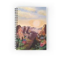 Cacti and Canyons Spiral Notebook