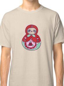Russian Doll Sloth Classic T-Shirt
