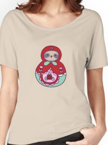 Russian Doll Sloth Women's Relaxed Fit T-Shirt