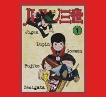 Vintage Lupin Comics Kids Clothes
