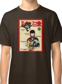 Vintage Lupin Comics Classic T-Shirt