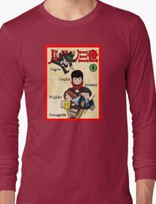 Vintage Lupin Comics Long Sleeve T-Shirt