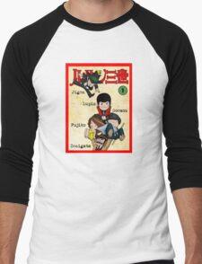 Vintage Lupin Comics Men's Baseball ¾ T-Shirt