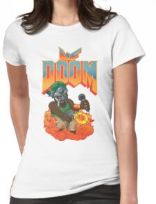 MF DOOM: Knee Deep in the Dead! Womens Fitted T-Shirt