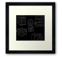 Evolution of the Camera Framed Print