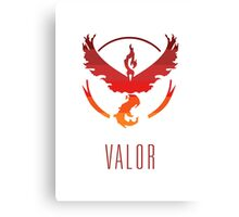 Team Valor - Light Canvas Print