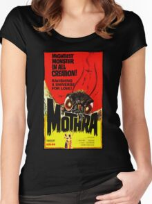 MOTHRA! Women's Fitted Scoop T-Shirt