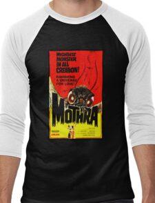 MOTHRA! Men's Baseball ¾ T-Shirt