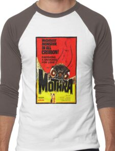 MOTHRA! Men's Baseball ¾ T-Shirt