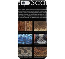 Herp Scales Poster iPhone Case/Skin
