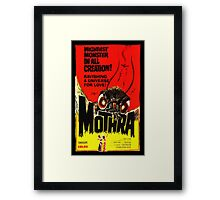 MOTHRA! Framed Print