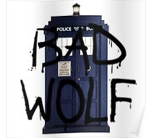 Doctor who, Bad Wolf Poster
