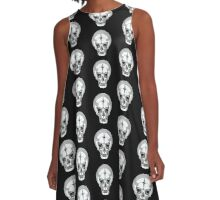 SKULL SHIRT OF SATURNALIA A-Line Dress