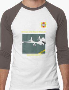 BV-38 Raiders Service and Repair Manual Men's Baseball ¾ T-Shirt
