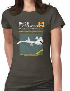 BV-38 Raiders Service and Repair Manual Womens Fitted T-Shirt