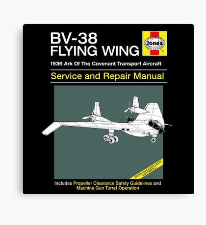 BV-38 Raiders Service and Repair Manual Canvas Print