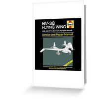 BV-38 Raiders Service and Repair Manual Greeting Card