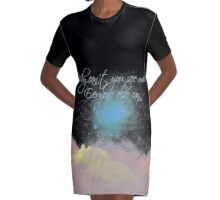 Why can't you see me? Everyone else can. Graphic T-Shirt Dress