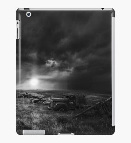 Goodnight John Boy - BW iPad Case/Skin