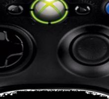 Wanna Play Xbox Controller Tee Sticker