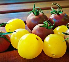 Cherry Tomatoes by kchase