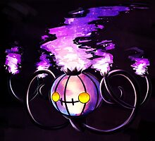Chandelure by angelsoma