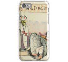 Les Marionnettes de la Vie 1890 - Le Boulingrin iPhone Case/Skin