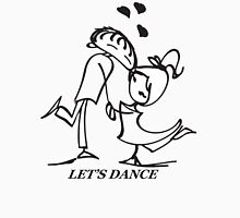 Let's Dance - Womens Fitted T-Shirt
