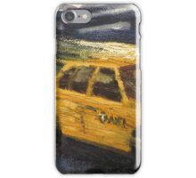 NYC taxi Yellow taxi iPhone Case/Skin