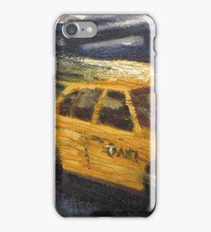 NYC taxi Yellow taxi iPhone Case/Skin
