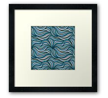 Colored Thread Framed Print