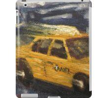 NYC taxi Yellow taxi iPad Case/Skin