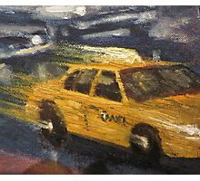 NYC taxi Yellow taxi Photographic Print