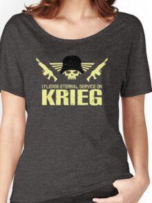 Pledge Eternal Service on Krieg Women's Relaxed Fit T-Shirt