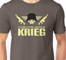 Pledge Eternal Service on Krieg Unisex T-Shirt