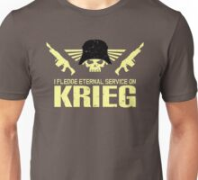 Pledge Eternal Service on Krieg Unisex T-Shirt