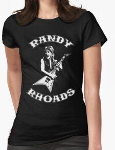 Randy Rhoads Womens Fitted T-Shirt