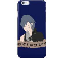 Pray For Chrom iPhone Case/Skin