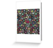 Honolulu hoops brown Greeting Card