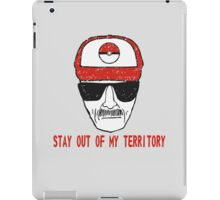 Stay out of my territory iPad Case/Skin