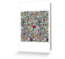 Honolulu hoops cream Greeting Card