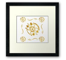 Freedom Flowers Framed Print