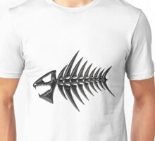 Bone Fish Unisex T-Shirt