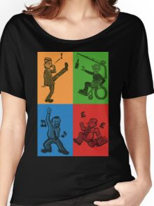 Britcom Brilliance - Brent, Fawlty, Jack & Trotter Women's Relaxed Fit T-Shirt