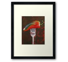 More Than a Mouthful Framed Print