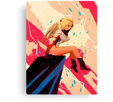 Mercy Overwatch  Canvas Print