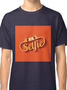 Selfie Design Element EPS 10 vector Classic T-Shirt