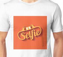 Selfie Design Element EPS 10 vector Unisex T-Shirt